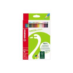 Stabilo Greencolors Buntstifte18 Etui