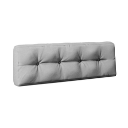 Vicco Palettenkissen Palettenkissen Rückenkissen Palettenmöbel 20 cm hoch Grau grau