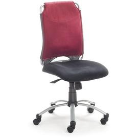 Mayer Sitzmöbel Spirit ohne Armlehnen schwarz / rot