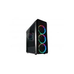 LC Power Geh Midi Gaming 703B Quad-Luxx o.N. B Midi/Minitower ATX (LC-703B-ON)