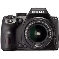 Pentax K-70 schwarz + DA AL 18-50 mm WR + 50-200 mm WR