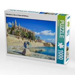 Kathedrale La Seu in Palma de Mallorca Lege-Größe 64 x 48 cm Foto-Puzzle Bild von We Love Mallorca Puzzle