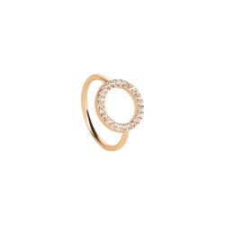 TOSH XL Ring besetzt mit Kristallen