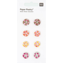 Quilling Sticker Donuts