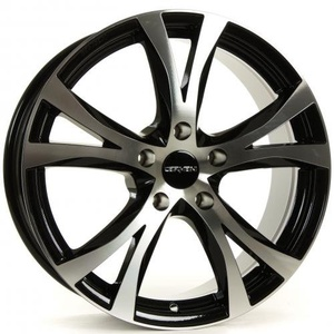 CARMANI 09 Compete black polish 6,5x16 ET45 5.00x114 Hub Bore 72.60 mm - Alu felgen