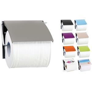 "MSV Bad Serie""Taupe"" Toilettenpapierhalter WC Rollenhalter Papierhalter Klopapierhalter"