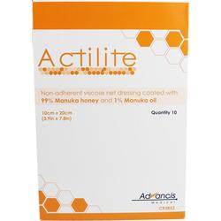 Actilite 10x20 cm Honig Wundauflage