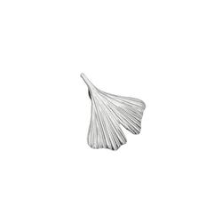 Gallay Kettenanhänger Anhänger 20x20mm Ginkgoblatt Silber glänzend 925