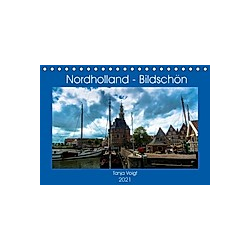 Nordholland - Bildschön (Tischkalender 2021 DIN A5 quer)