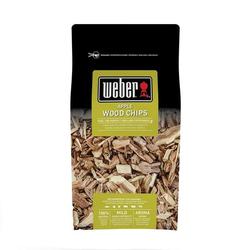 Weber Räucherchips Apfelholz, 700 g Braun