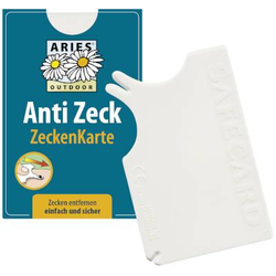 ARIES Anti Zeck Zeckenkarte