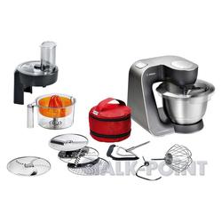 BOSCH Küchenmaschine MUM59N37DE Küchenmaschine schwarz/Edelstahl