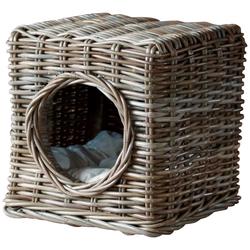 SILVIO design Tierbett Milo, Katzenhoehle, BxLxH: 35x35x35 cm