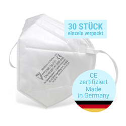 Fackelmann FFP2 Atemschutzmaske, 30 Stück