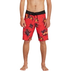 Volcom - Mod Lido Prnt 20 M Carmine Red - Boardshorts - Größe: 32 US