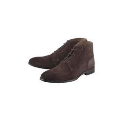 Boots Schnür-Stiefelette COX braun-dunkel