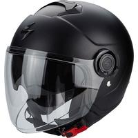 Scorpion Exo City Solid Jet Helm Schwarz Matt XS (54/55)