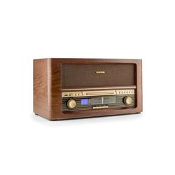 Auna Belle Epoque 1906 Retro-Stereoanlage CD USB MP3 UKW CD-Player (UKW-Radiotuner, 0 W)