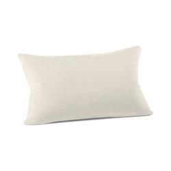 Schlafgut Kissenbezug Mako Jersey in leinen, 40 x 60 cm