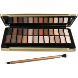 technic Lidschatten-Palette Treasury Gold, Mit goldener Dose