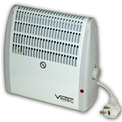Vintec Heizer Elektroheizer VT 400N Heizlüfter 400 Watt weiß