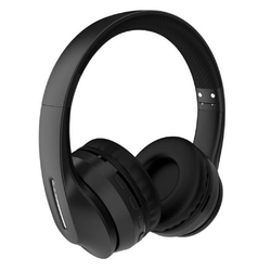 Kaku Kaku 5.0 Bluetooth Kopfhörer Wireless On-Ear Headset mit Mikrofon SD-Karte, schwarz Bluetooth-Kopfhörer