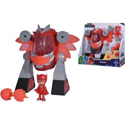SIMBA Roboter PJ Masks, Turbo Roboter Eulette, mit Lichteffekten