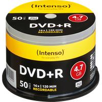 Intenso DVD+R 4,7GB 120min 16x 50er Spindel