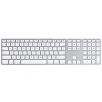 Apple Magic Keyboard mit Ziffernblock ES silber (MQ052Y/A)