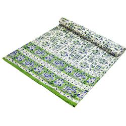 Tagesdecke Blockdruck Tagesdecke, Bett & Sofaüberwurf,.., Guru-Shop 150 cm x 200 cm