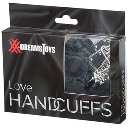 XX-DREAMSTOYS Handschellen Liebes Handschellen mit Plüsch