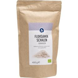 FLOHSAMENSCHALEN gemahlen Bio Pulver 400 g