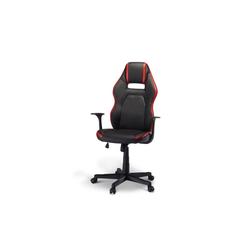 ebuy24 Drehstuhl Spike Bürostuhl Gamer Stuhl schwarz und rot.