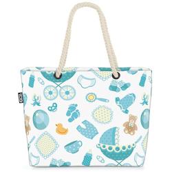 VOID Strandtasche (1-tlg), Babywagen Spielzeug Beach Bag Bär Baby Kinderwagen Babyzimmer Kinder Zimmer