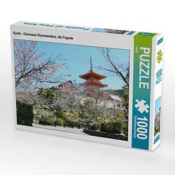 Kyoto - Otowasan Kiyomizudera, die Pagode Lege-Größe 64 x 48 cm Foto-Puzzle Bild von Flori0 Puzzle