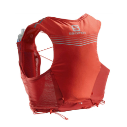Salomon - Adv Skin 5 Set Goji  - Trinkgürtel / Rucksäcke - Größe: L