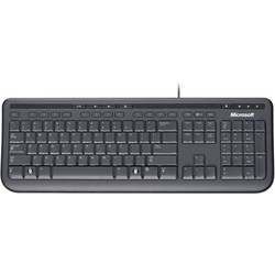 MICROSOFT WIRED KEYBOARD 600 SCHWARZ