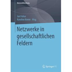 Netzwerke in gesellschaftlichen Feldern als Buch von