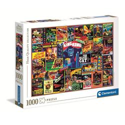 Clementoni® Puzzle 39602 Thriller-Klassiker 1000 Teile Puzzle, Puzzleteile bunt