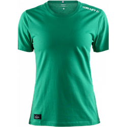 MIX SS TEE W green DHfK