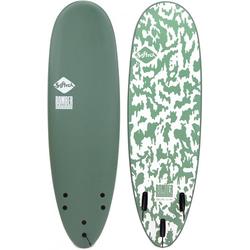 SOFTECH SOFTBOARDS BOMBER Surfboard 2021 smoke green/white - 6,10