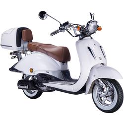 GT UNION Motorroller Strada, 50 ccm, 45 km/h, Euro 4, (Set), inkl. Topcase