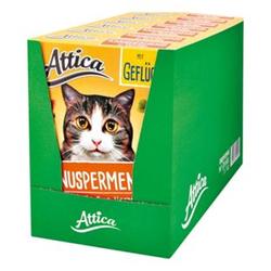 Attica Katzenfutter Knuspermenü Geflügel 1 kg, 7er Pack