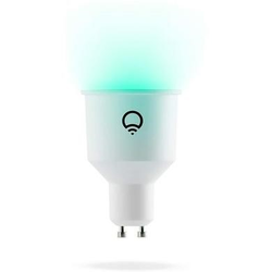 LiFX Smart Multicolour Dimmable WiFi LED Light Bulb with GU10 Short Spotlight fitting - 2 Pack