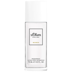 s.Oliver Black Label Deodorant Spray 75ml für Frauen