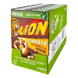 Nestle Lion Cereals 400 g, 8er Pack