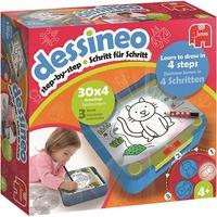 JUMBO Spiele Dessineo-Zeichnen lernen