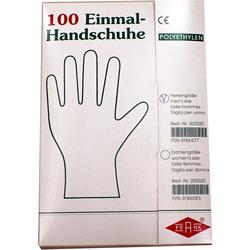 Handschuhe Einmal Herren Polyäthylen