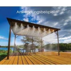 Gartenwassernebel 7,5m WHITE LINE BRADAS 9685