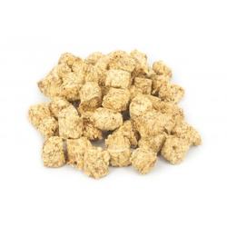 Brekz Snacks - Crunchy Bites Thunfisch-Wolfsbarsch 4 x 200 Gramm (Lamm, Huhn, Rindfleisch, Thunfisch-Wolfsbarsch)
